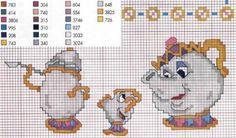 Just Cross Stitch Patterns Disney Cross Stitch Patterns, Counted Cross Stitch Patterns, Cross Stitch Charts, Cross Stitch Designs, Cross Stitch Embroidery, Cross Stitch Kitchen, Cross Stitch For Kids, Just Cross Stitch, Cross Stitch Baby