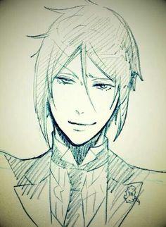 "Kuroshitsuji / Black Butler He looks like: ""Ciel is so cute; but I really want to kill him"""