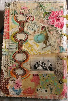 new journal for the new year by pam garrison, via Flickr
