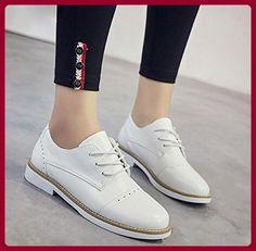 Frau im Frühjahr und Herbst Freizeitschuhe Aufzug Schuhe Frauenschuhe flache  Dameneinzel kleinen College Damen Schuhe , US7.5   EU38   UK5.5   CN38 ... 3d138f38b8