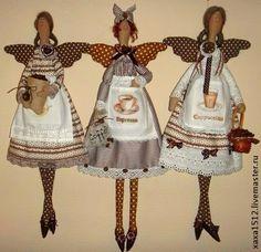 Куклы Тильды ручной работы. Ярмарка Мастеров - ручная работа Кофейная феюшка. Handmade.