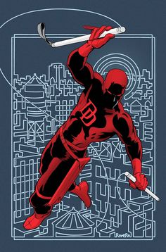 DAREDEVIL #1 MARK WAID (W) • CHRIS SAMNEE (A/C) BECAUSE YOU DEMANDED IT! Join Marvel's fearless hero as he begins his most awe-inspiring adventure yet in the sunny city of San Francisco! Gifted with an imperceptible radar sense and a passion for justice, blind lawyer Matt Murdock—a.k.a. DAREDEVIL—protects the Golden City's streets from all manner of evil.  32 PGS./Rated T+ …$3.99