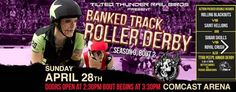 Check out the original roller derby this Sunday, April 28th at the Comcast Arena in Everett.