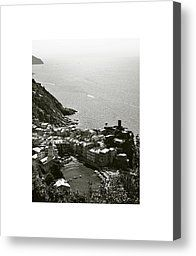 Vernazza II Photograph by Don Saunderson - Vernazza II Fine Art Prints and Posters for Sale