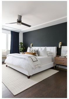 Master Bedroom Reveal - McKenna Bleu #modern #master #bedroom #modernmasterbedroom Modern Master Bedroom, Master Bedroom Makeover, Master Bedroom Design, Dream Bedroom, Home Decor Bedroom, Master Bathroom, Contemporary Bedroom, Master Bedrooms, Teen Bedroom