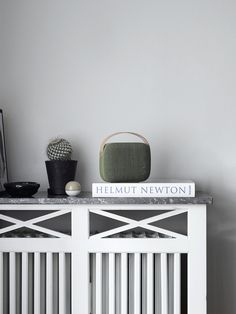 The Helsinki speaker, a portable Bluetooth speaker designed with you in mind