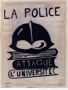 Affiche Atelier Populaire des Beaux-Arts - via Gallica
