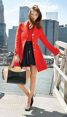 Kate Spade Eryn Coat Fall 2013