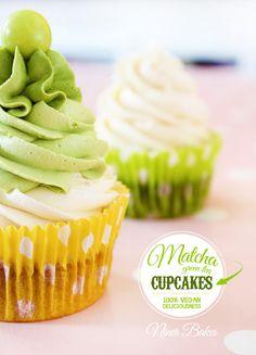Wie Matcha Grün Bist DU? Super grüne vegane Matcha Cupcakes   niner bakes