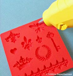 Mod Podge Mod Melts. Perfect for crafters.:  buy the mod podge sticks, put them into gun then into silicone  mold.