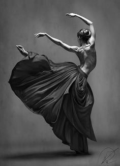 Dance by PaulDarkdraft on DeviantArt Ballet Poses, Ballet Art, Dance Poses, Ballet Dancers, Ballerinas, Dance Pictures, Wall Art Pictures, Print Pictures, Modern Dance