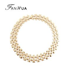 Hot Sale Rock Style Silver Bronze Color Gold Chain Necklace Fashion Designer Wholesale Jewelry-in Chain Necklaces from Jewelry on Aliexpress.com | Alibaba Group