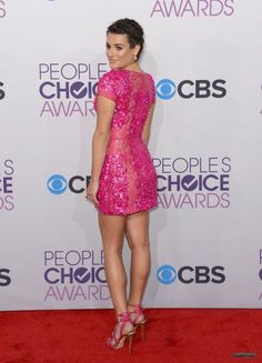 Lea Michele #PeoplesChoice