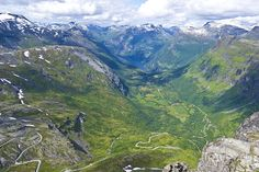 Норвегия. Через Дорогу троллей на машине