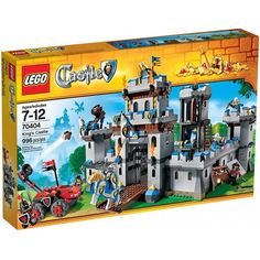 New Never Played LEGO Castle 70403 Dragon Mountain Dragon Knight Only