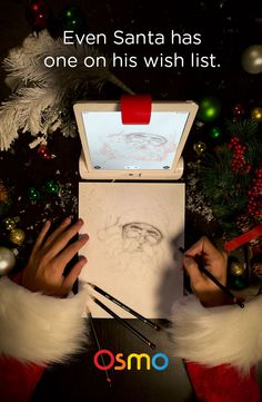 The gift that everybody has on their wish list for the holidays. Pick any image from the camera, curated gallery, or integrated web search and transform it into easy-to-follow lines and help you draw it to perfection. You can then share a magical time-lapse video of your creation with your friends and family.  With five different games that promote social interactions and creative thinking, Osmo is a must-have gift for the home and the classroom.
