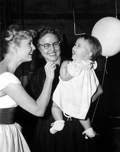 Debbie, her mother Maxine and her princess Carrie