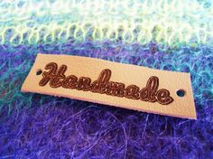 Hats Leather Labels Personalized Leather Labels Knitting