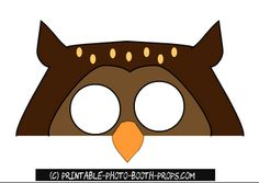 Free Printable Animals Photo Booth Props