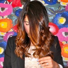 dark ombre hair to copper Ombre Hair Color For Brunettes, Dark Ombre Hair, Brunette Ombre, Good Hair Day, Love Hair, Gorgeous Hair, Tiger Eye Hair Color, Hair Colour, Dye My Hair