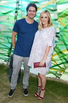 Pin for Later: Les Stars les Plus Stylées du Moment se Sont Toutes Rendues à la Serpentine Summer Party Jesse Wood et Fearne Cotton