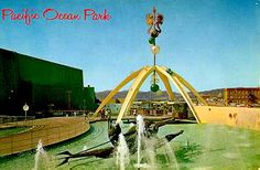 Amusement parks not there anymore -  Pacific Ocean Park (1958-1967)--ticket booth and entrance to park