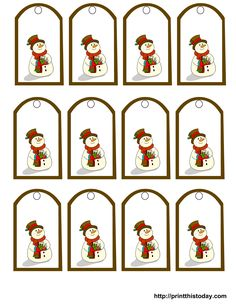 4 Best Images of Snowman Printable Labels - Snowman Gift Tags Free Printables, Snowman Soup Printable Tags and Free Printable Snowman Soup Labels Free Printable Christmas Gift Tags, Christmas Labels, Christmas Snowman, Christmas Crafts, Nordic Christmas, Christmas Candles, Modern Christmas, Christmas Stockings, Mery Chrismas
