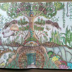 Раскраски Джоанны Бэсфорд. Конкурс картин
