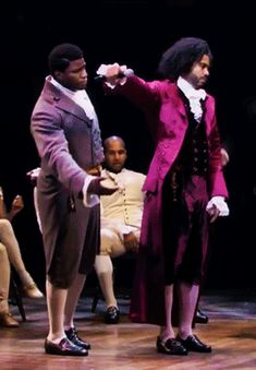 When your fried drops the mic, but those things are delicate and expensive #Hamilton #Madison #Jefferson