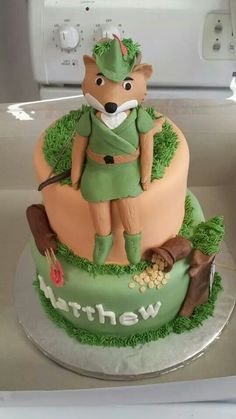 Robin Hood birthday cake!