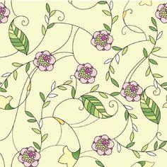 Papel de Parede Autocolante - Floral 1458