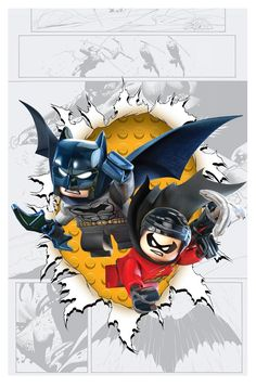 Batman and Robin #36 LEGO variant cover - artist? *