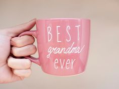 Hey, I found this really awesome Etsy listing at https://www.etsy.com/listing/179904851/best-grandma-ever-mug-best-grandma-ever