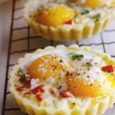 Mini Savory Breakfast Pies