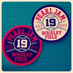 """Who else is gearing up for Wrigley? """"@thinairknits: Pearl Jam Wrigley here I go!!! *8/22/16* I'm so stoked!!!!"""" #PearlJam #PJTour2016"""