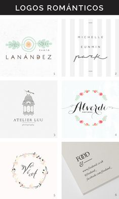 Logotipos románticos Hello! Creatividad
