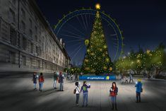 Marie Curie charity to set up Christmas tree powered by 'memories'