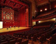 Jordan Hall, New England Conservatory in Boston, Massachusetts - Edmund M. Wheelwright, architect