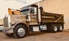 Peterbilt Dump Trucks, Tow Truck, Big Trucks, Hydraulic Ram, Logging Equipment, Heavy Construction Equipment, Custom Big Rigs, Buckets, Tractors
