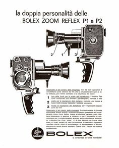 Vintage-1963-Bolex-Paillard-8mm-Zoom-P1-Reflex-Movie