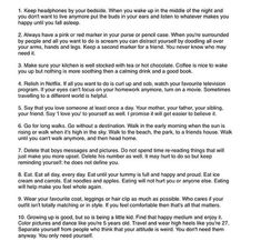 10 tips for happiness Dissociation, Good To Know, Feel Good, Hoe Tips, Life Advice, Note To Self, Self Improvement, Self Help, Self Care