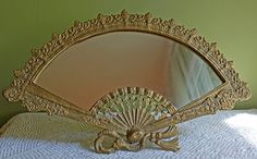 Mirror in Cast Iron Golden Frame. Standing by AnythingDiscovered