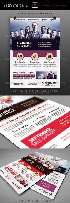 Minimalistic Corporate Flyer 3 - http://graphicriver.net/item/minimalistic-corporate-flyer-3/5339027?ref=cruzine