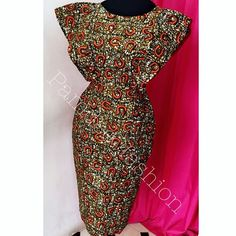 Sold out. Ankara Dress. African fashion. Wax print. African wax styles
