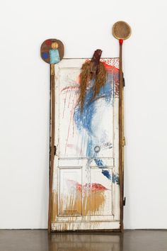 Michael Buthe - Untitled (door and paddles), 1973