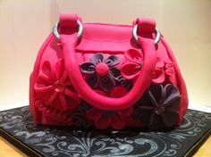 Posts about Handbag Cake written by theyuppiebaker Cake Decorating With Fondant, Cake Decorating Techniques, Cake Decorating Tutorials, Fancy Cakes, Cute Cakes, Handbag Tutorial, Cake Writing, Handbag Cakes, Cake Shapes