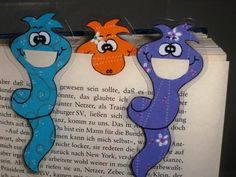 Bookmarks Kids, Corner Bookmarks, Cute Crafts, Crafts For Kids, Leather Bookmark, Diy Back To School, Library Activities, Diy Envelope, Origami Tutorial
