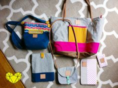 Bright Little Studio bags <3