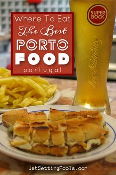 Eating Porto food is a highlight of any trip to Portugal! From meaty sandwiches to hearty casseroles to sweet treats, there is a long list of must-try Porto dishes. During our stay, we ventured into the best restaurants in Porto in search of the most delectable local cuisine. We are sharing our top tips for what and where to eat in Porto, Portugal to help fellow travelers in their quest to find the best fare in the city. Custard Tart, Portuguese Recipes, Best Places To Eat, Rotisserie Chicken, Hot Dog Buns, Street Food, The Best, Tapas, Portugal