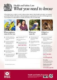 Free Health And Safety Posters To Print Health And Safety Poster